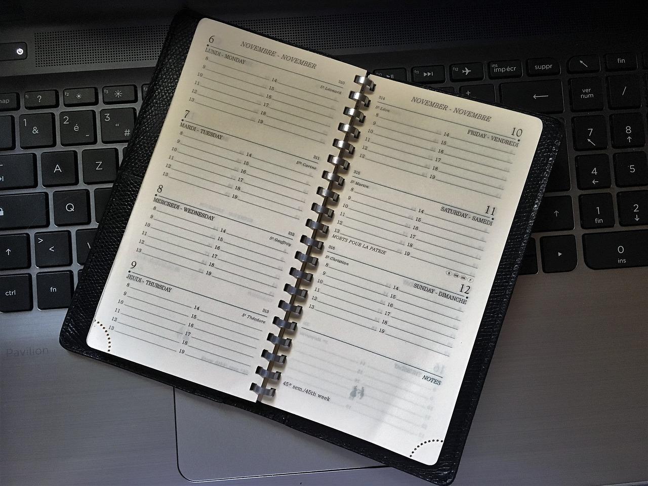 Le planning des réalisations