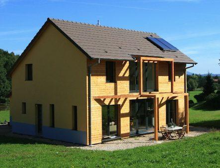 Maison Ossature bois certifiée BBC Effinergie RT 2005