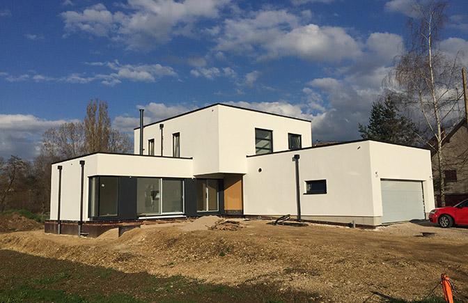 Maison ossature bois Fislis Alsace