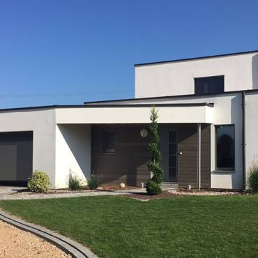 Maison Ossature Bois à Linsdorf (68)