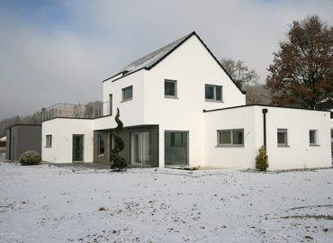 Maison ossature bois Hirsingue Sud Alsace