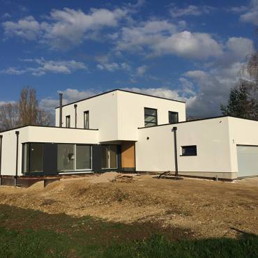 Maison Ossature Bois à Fislis (68)