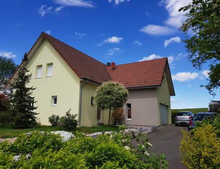 Maison Ossature Bois à Faverois (90)