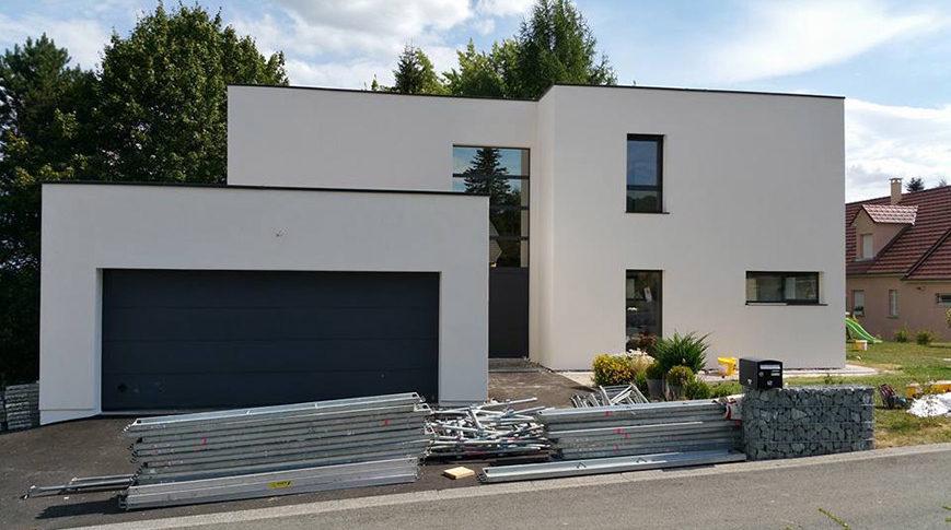 Construction maison briques Belfort Offemont