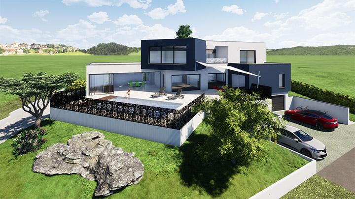 Projet Maison Alsace