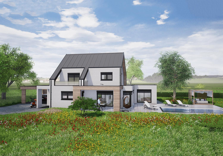 Maison individuelle Belfort concept Osmose SGMO