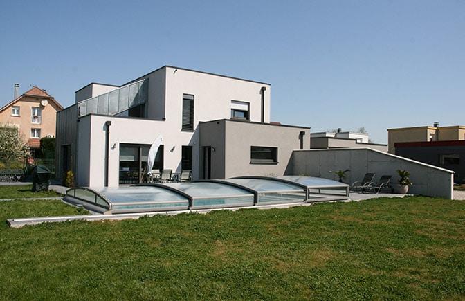 Construction maison ossature bois Grand-Charmont