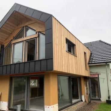 Rénovation et extension maison Leimbach (68)