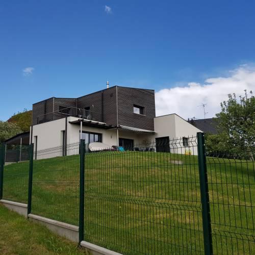Maison Ossature Bois à Durlinsdorf (68)