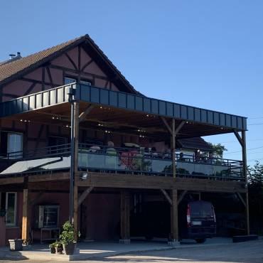 Terrasse de restaurant à Florimont (90)